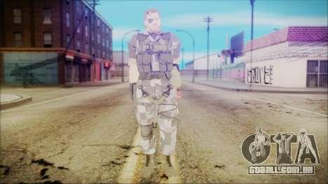 MGSV Phantom Pain Snake Normal Square para GTA San Andreas segunda tela