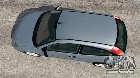 GTA 5 Ford Focus SVT Mk1 voltar vista