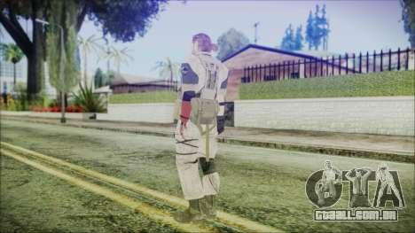MGSV Phantom Pain Snake Normal Desert para GTA San Andreas terceira tela