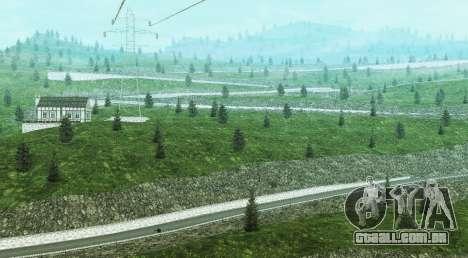 Stelvio Pass Drift Track para GTA San Andreas terceira tela
