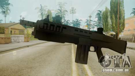 GTA 5 Combat Shotgun para GTA San Andreas segunda tela