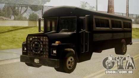 Bus III para GTA San Andreas