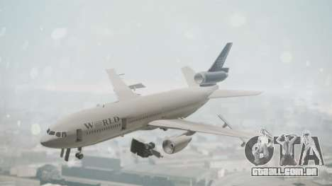 DC-10-30 World Airways (Blue Tail) para GTA San Andreas