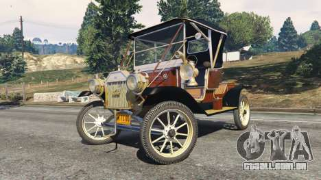 GTA 5 Ford Model T [two colors] vista lateral direita
