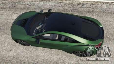 GTA 5 BMW i8 2015 voltar vista