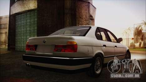 BMW 7-er E32 Stock para GTA San Andreas esquerda vista