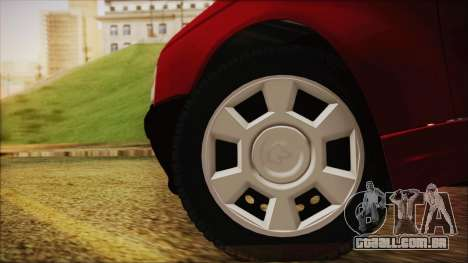 Ikco Arisun para GTA San Andreas traseira esquerda vista