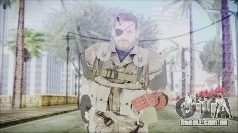 MGSV Phantom Pain Snake Scarf Olive Drab para GTA San Andreas
