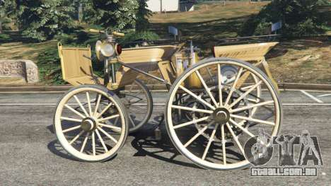 GTA 5 Daimler 1886 [wood] vista lateral esquerda