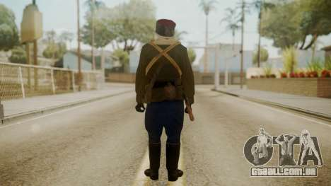 Red Army Cossack - WW2 para GTA San Andreas terceira tela