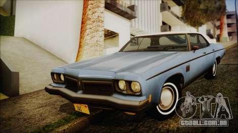 Oldsmobile Delta 88 1973 Final para GTA San Andreas