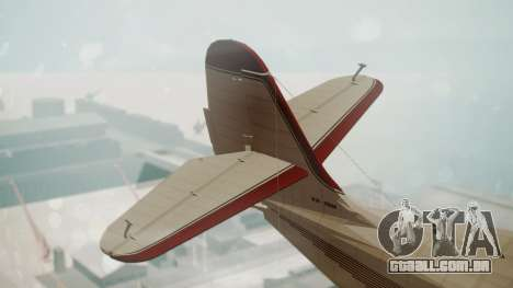 Grumman G-21 Goose VHIRM para GTA San Andreas traseira esquerda vista