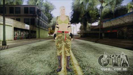 Home Girl Camo para GTA San Andreas