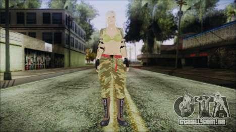 Home Girl Camo para GTA San Andreas segunda tela