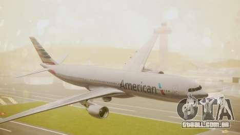 Airbus A330-300 American Airlines para GTA San Andreas