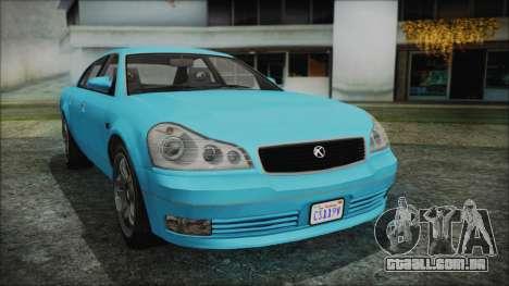 GTA 5 Karin Intruder para GTA San Andreas
