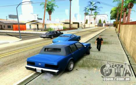 ENB for Medium PC para GTA San Andreas quinto tela