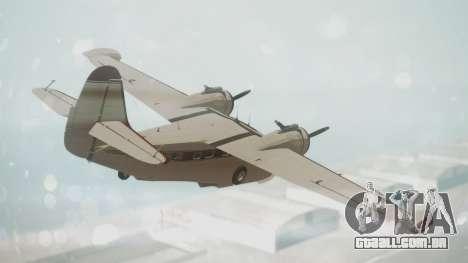 Grumman G-21 Goose VHIRM para GTA San Andreas esquerda vista