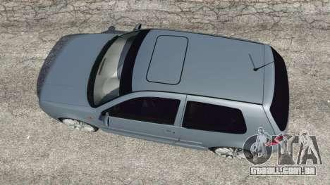 GTA 5 Volkswagen Golf Mk4 R32 voltar vista