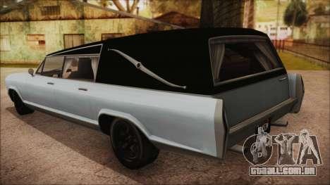 GTA 5 Albany Lurcher Bobble Version para GTA San Andreas esquerda vista