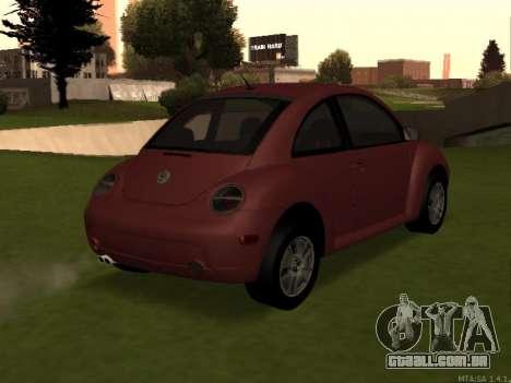 VW New Beetle 2004 Tunable para GTA San Andreas esquerda vista