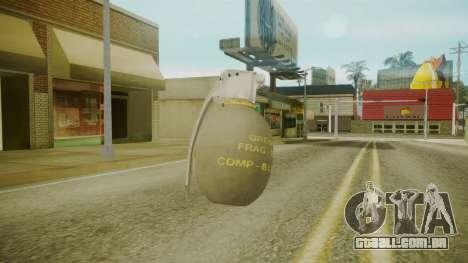 GTA 5 Grenade para GTA San Andreas terceira tela