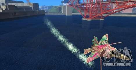 Water Effect para GTA San Andreas segunda tela
