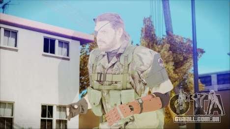MGSV Phantom Pain Snake Normal Woodland para GTA San Andreas