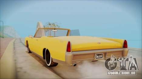 GTA 5 Vapid Chino Bobble Version para GTA San Andreas esquerda vista