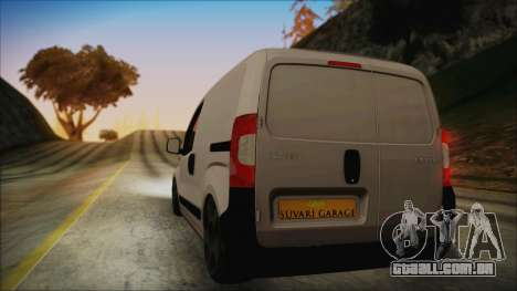 Peugeot Bipper para GTA San Andreas esquerda vista