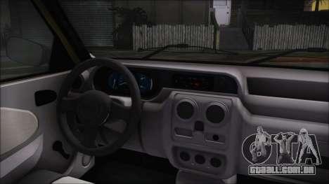 Dacia Solenza para GTA San Andreas vista direita
