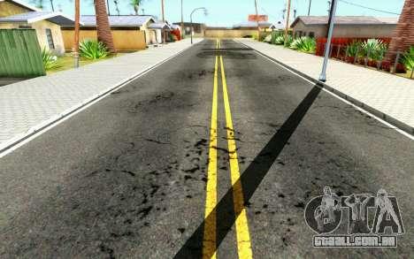 ENB for Medium PC para GTA San Andreas por diante tela