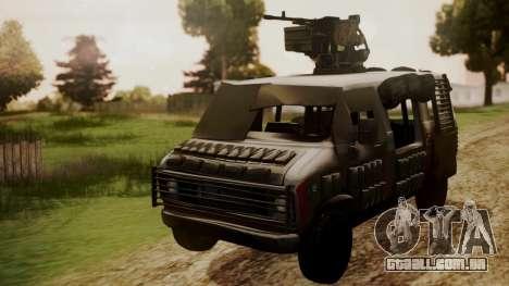 BF3 Rhino para GTA San Andreas vista direita