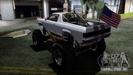 GTA 5 Cheval Marshall para GTA San Andreas esquerda vista