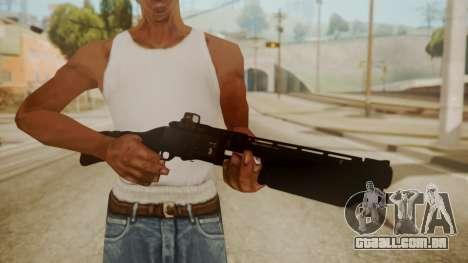 CQC-11 Combat Shotgun para GTA San Andreas terceira tela