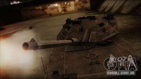 M2A1 Slammer Tank para GTA San Andreas vista direita