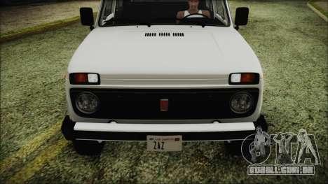VAZ 2121 Niva 1600 FIV APT para GTA San Andreas vista interior