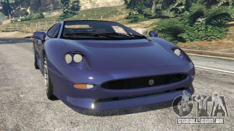 Jaguar XJ220 v0.9 para GTA 5