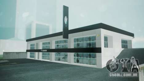 BMW Showroom para GTA San Andreas segunda tela