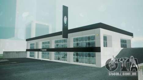 BMW Showroom para GTA San Andreas segunda tela