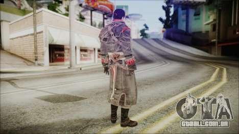 Shay Patrick Cormac - Assassins Creed Rogue para GTA San Andreas terceira tela