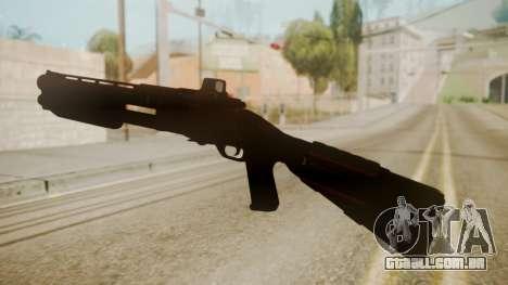 CQC-11 Combat Shotgun para GTA San Andreas segunda tela