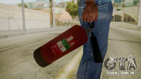 GTA 5 Fire Extinguisher para GTA San Andreas