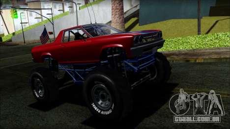 GTA 5 Cheval Marshall IVF para GTA San Andreas
