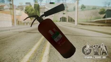 GTA 5 Fire Extinguisher para GTA San Andreas terceira tela