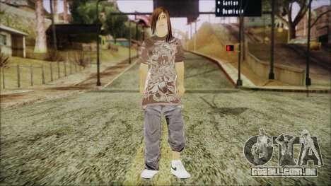Home Girl Chola 3 para GTA San Andreas segunda tela