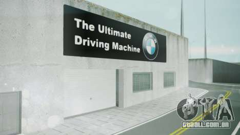BMW Showroom para GTA San Andreas terceira tela