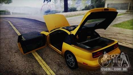 Nissan Fairlady Z Twinturbo 1993 para GTA San Andreas vista superior