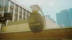 GTA 5 Grenade para GTA San Andreas