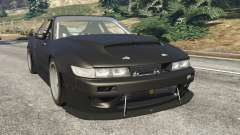 Nissan Silvia S13 v1.2 [without livery] para GTA 5